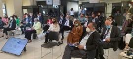 El Raonador del Ciutadà, Marc Vila, a la trobada de l'AOM.