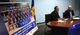 Els jugadors del MoraBanc s'impliquen en una campanya contra la violència de gènere Els jugadors del MoraBanc s'impliquen en una campanya contra la violència de gènere