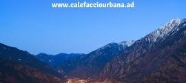 El portal web que FEDA ha posat en marxa aquest any per presentar la xarxa de calor d'Andorra la Vella.