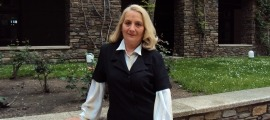 La veterana periodista, en una imatge d'arxiu