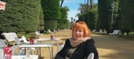 La historiadora de l'art, que avui desfila pel cicle Transversals, a Escaldes-Engordany.